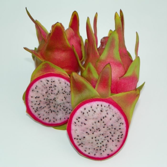 Dragon Fruit variety Maria Rosa fruit sliced