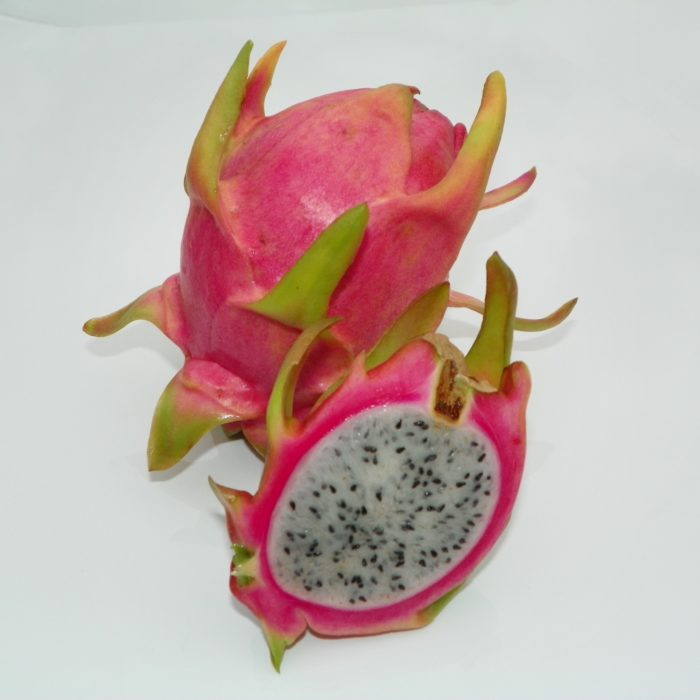 Dragon Fruit variety Seoul Kitchen fruit sliced