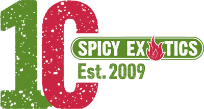 Spicy Exotics 10 year Logo